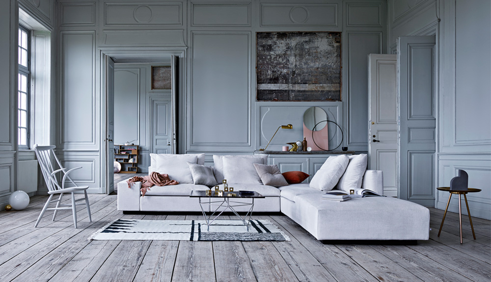 genuine leather sectional sofa with chaise zephyr by simmons upholstery eilersen   theodores
