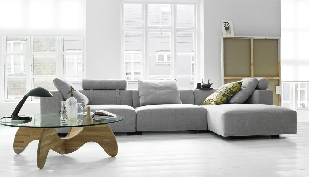 genuine leather sectional sofa with chaise grey sale eilersen   theodores