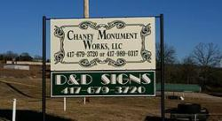 Chaney Monuments