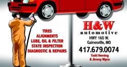 H&W Automotive, LCC
