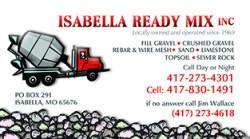 Isabella Ready Mix INC.