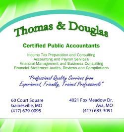 Thomas & Douglas Certified Public Accountants