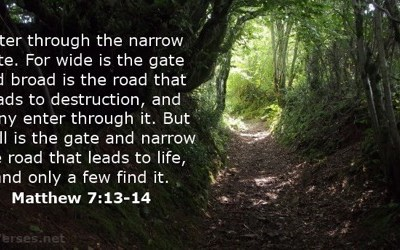 The straight and narrow