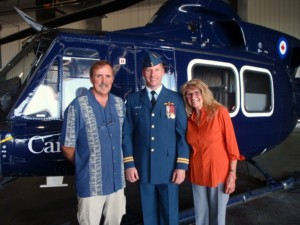Captain Barnes Helicopter School Graduation