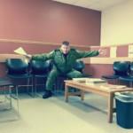 Captain Steve Barnes waiting room 8