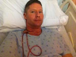 Steve Barnes Thyroid Cancer Surgery 1