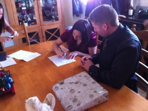 Steve and Mireille Barnes Married 3