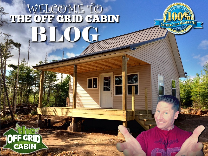 Welcome to The Off Grid Cabin Blog