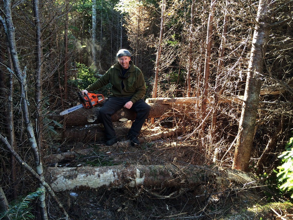 The Trail to the Off Grid Cabin with Steve Barnes
