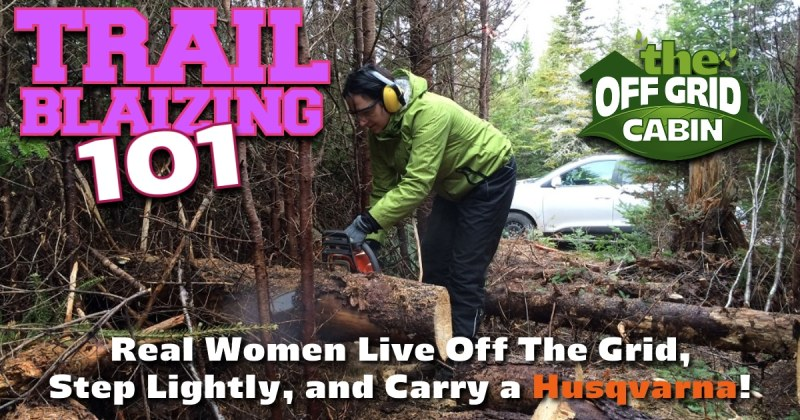Trail Blazing The Off Grid Cabin