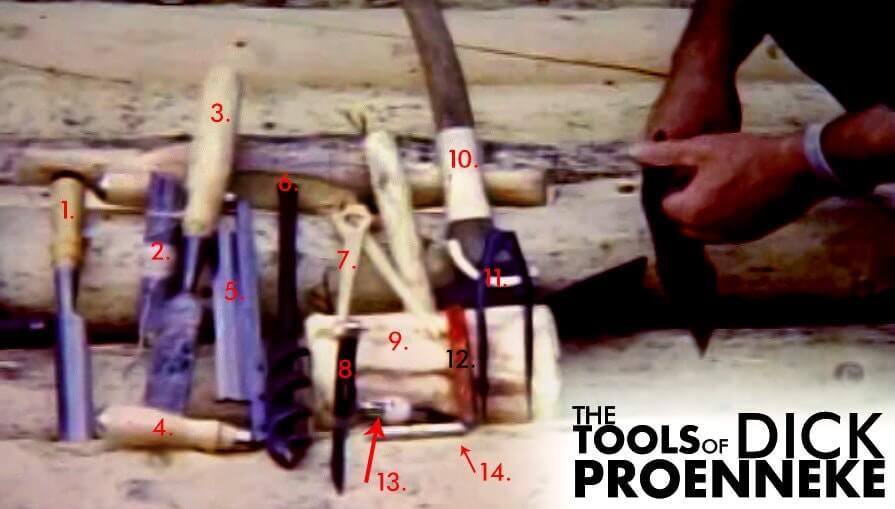 The Tools Of Richard Proenneke