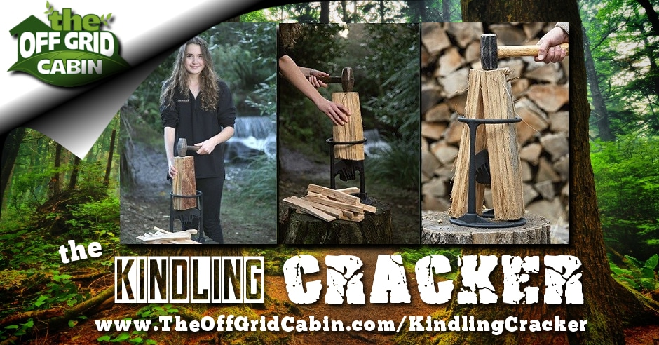 The Kindling Cracker from The Off Grid Cabin