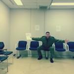 Captain Steve Barnes waiting room 3
