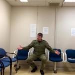 Captain Steve Barnes waiting room 6