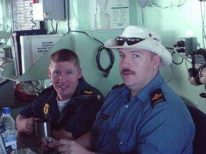 Leading Seaman Steven Barnes