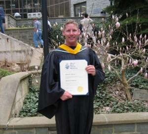 Steve Barnes MSVU Graduation BSc