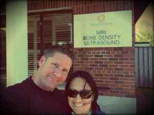 Steve and Mireille Barnes Ultrasound