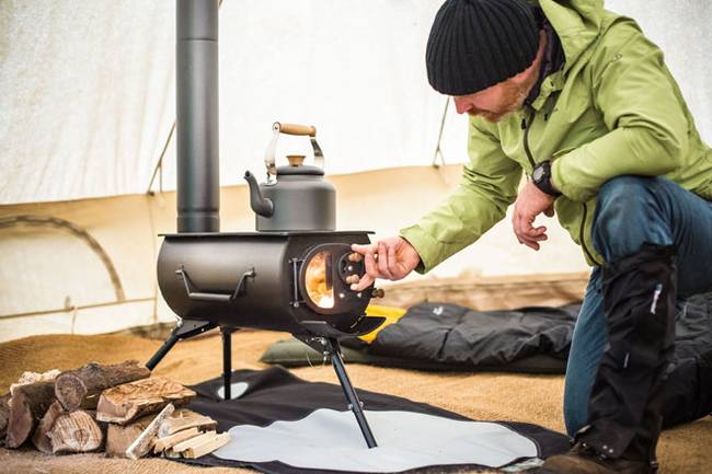 Frontier Plus Portable Woodstove 6