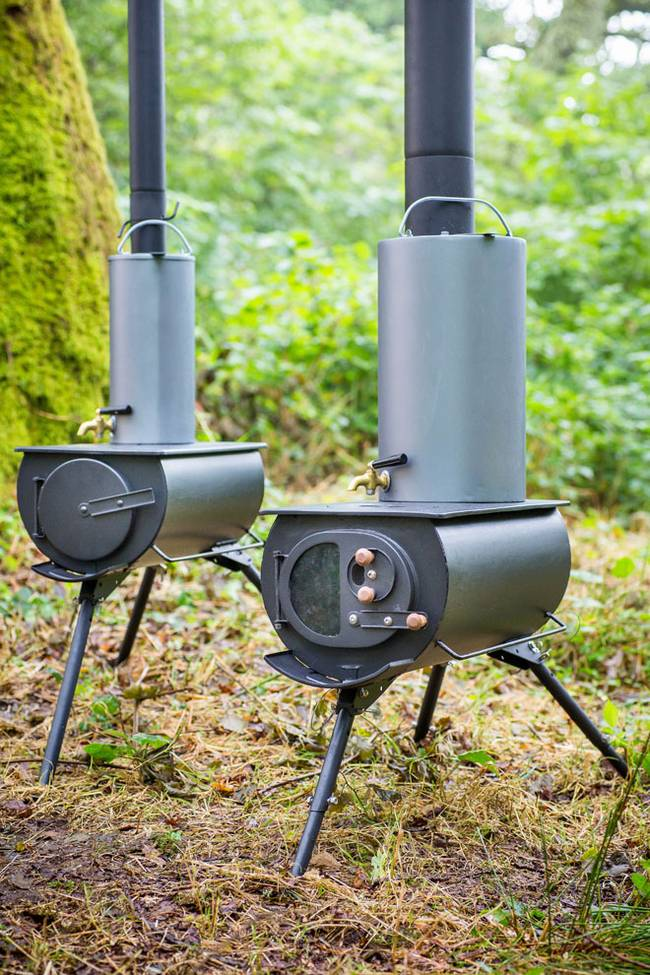 Frontier Plus Portable Woodstove 9