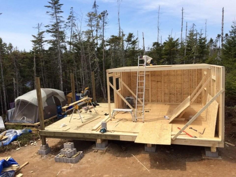 Framing The Cabin Loft Floor Joist Flooring 2