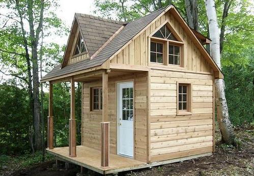 Off Grid Cabin Dormer