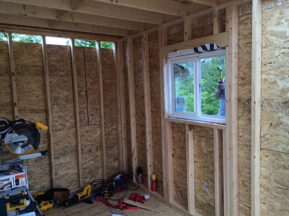 The-Off-Grid-Cabin-Bedroom-Install