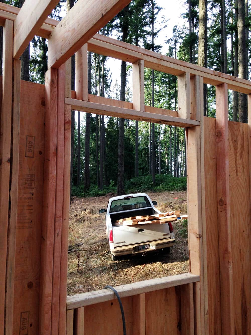 off grid cabin six day cabin day 4-5