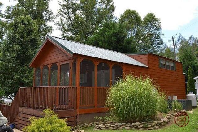 Alabama Custom cabin tiny house 1