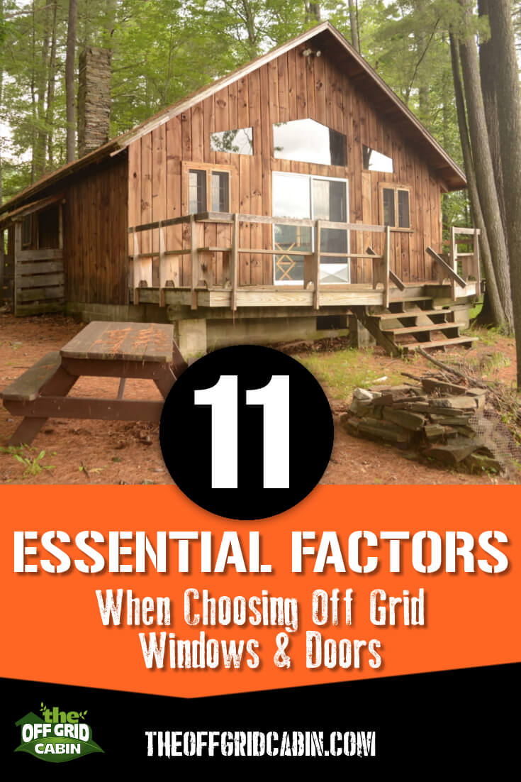 11 Essential Factors When Choosing Off Grid Windows and Doors 1