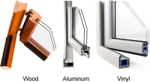 Aluminum Wood Vinyl Windows