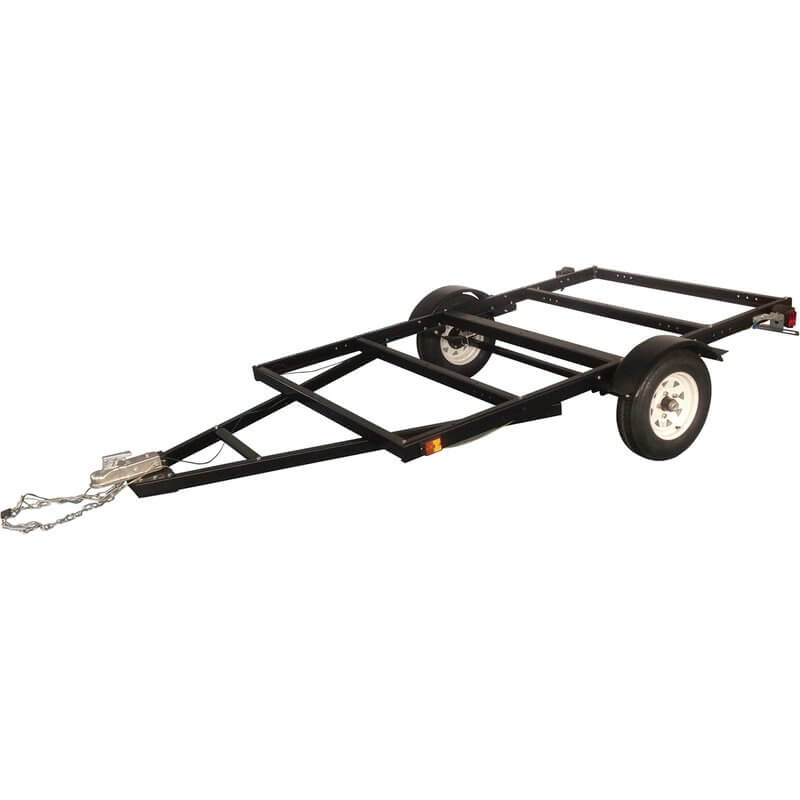 Ironton Heavy-Duty Trailer Kit - 5ft. x 8ft, 5.30-12in. Tires (1)