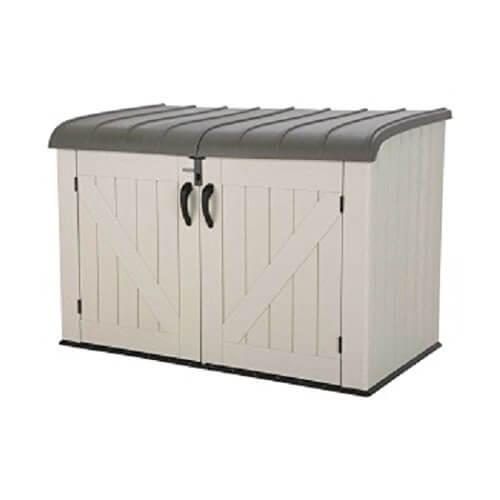 Lifetime Products Horizontal Storage Box, Tan