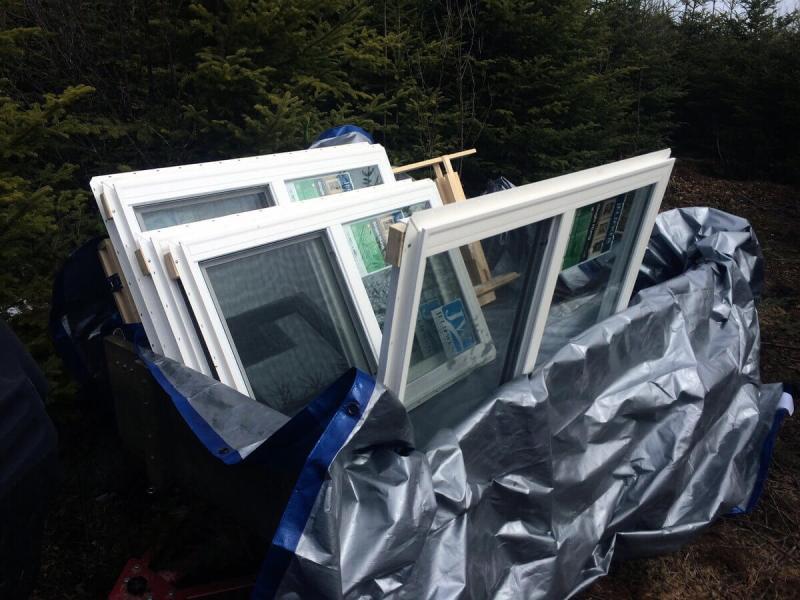 The Off Grid Cabin Windows 1