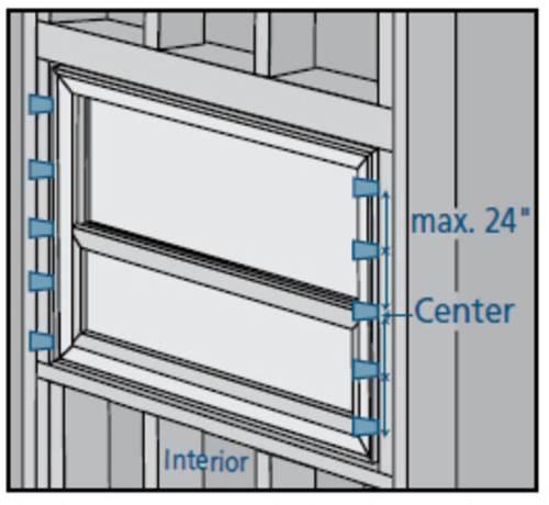 Vinyl Window Installation Shim Spacing