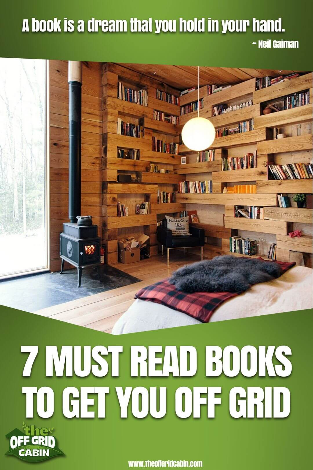 7 must read books to get you off grid