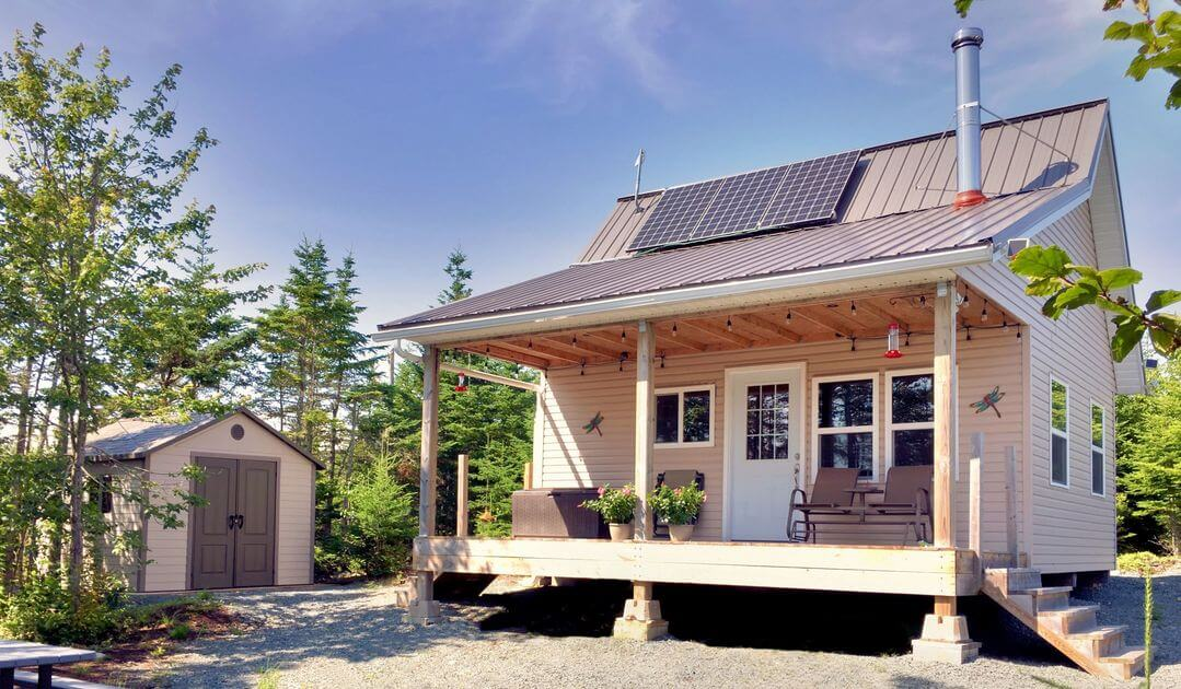 The Off Grid Cabin Home