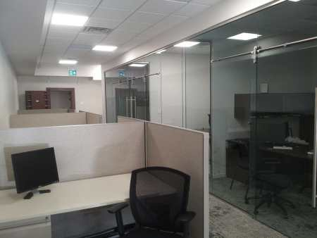 The Office Toronto Cubicles / Dedicated Desks