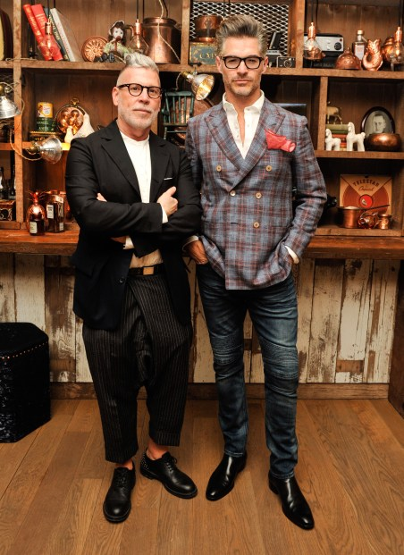 Nick Wooster, Eric Rutherford