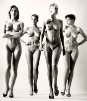 nudes by Helmut Newton