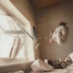 woman through the window - geddes