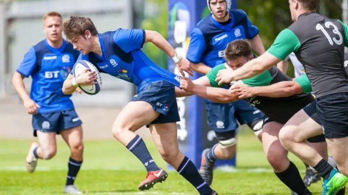 Ross Thomson Scotland Under-20