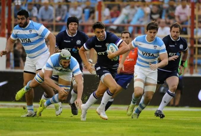 Adam Hastings - Scotland v Argentina