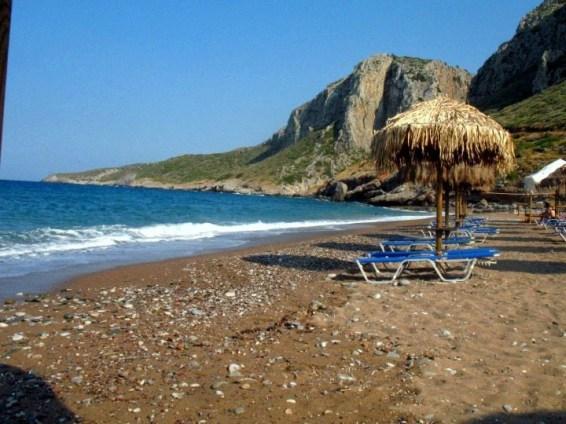 παραλίες κυθηρα