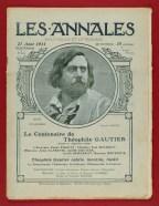 n° du 27 août 1911 consacré au centenaire de Gautier