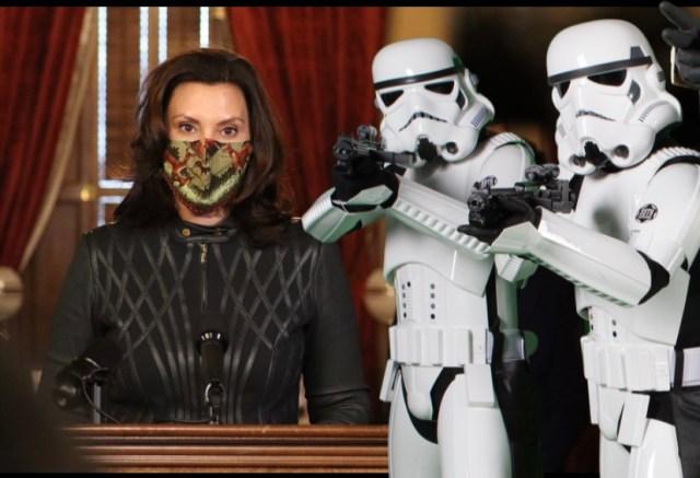 Michigan Governor Gretchen Whitmers