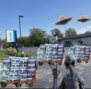 Michiganders Blame Sky Mints