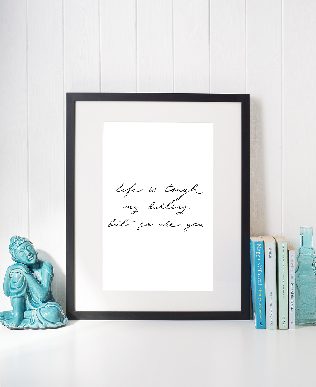 Delicate Handwritten Wall Art