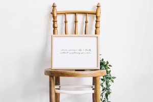 Admire Beauty Quote Wall Art