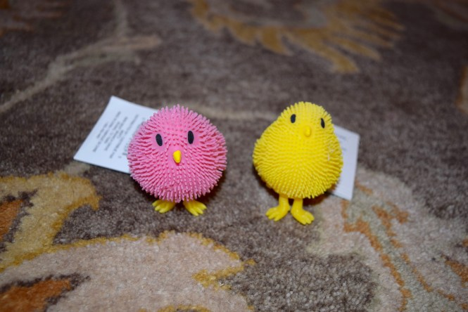 Chicks for easter basket