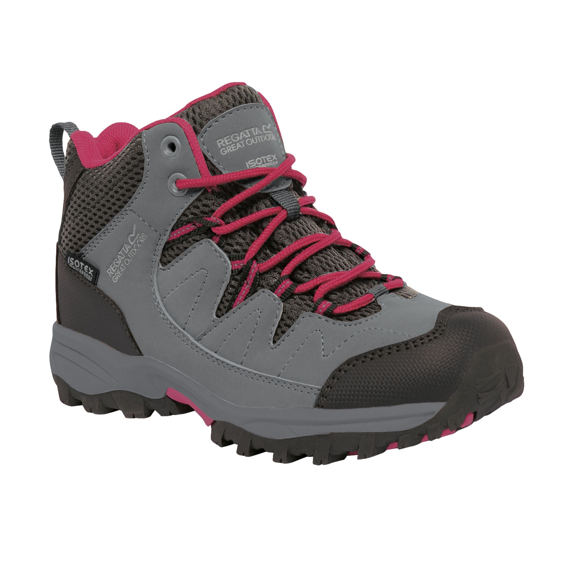 Grey 'Holcombe' mid walking boots huge surprise lqvLte